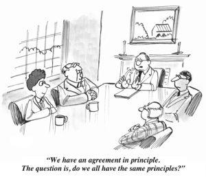 Agreement in Principle